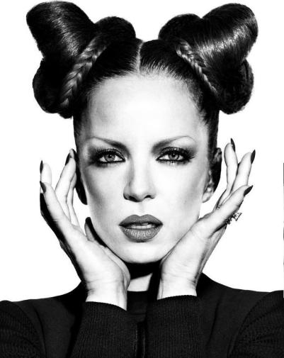 Shirley Manson by Kurt Markus