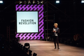 Opening BAFW, REUSE:IT. Fashion Revolution Speech