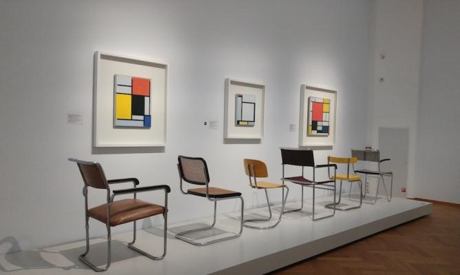 The Discovery of Mondrian, Gemeentemuseum The Hague. Image © Leora Sameni