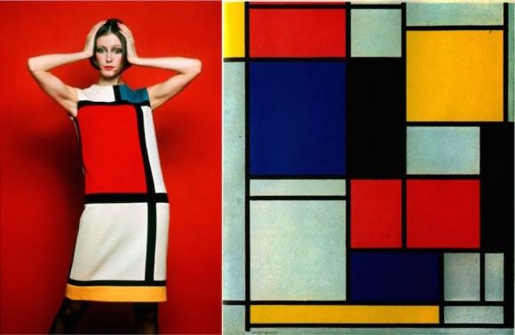 YSL Robe Mondrian