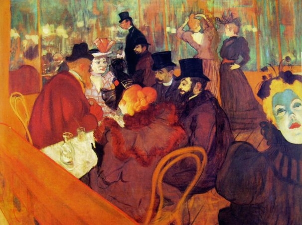 In the Moulin Rouge. Henri de Toulouse-Lautrec
