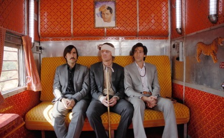 Film still from Wes Anderson's The Darjeeling Limited.